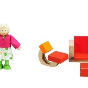 Модерна дървена къща за кукли - Детски играчки - Къщи за игра, маси и столове - Дървени играчки