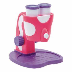 Моят първи микроскоп - Geosafari, розов - Детски играчки - STEM Играчки