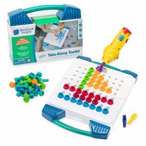 Мозайка - куфарче с винтоверт и болтчета - Детски играчки - STEM Играчки