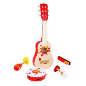Музикален дървен комплект за деца - Детски играчки - Музикални инструменти - Дървени играчки