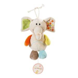Музикална играчка за количка Слончето Дунди - Детски играчки - Плюшени играчки