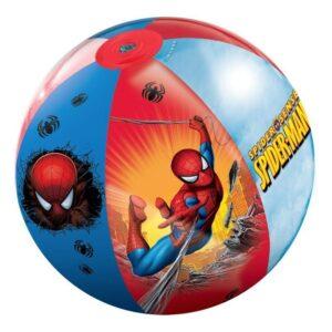 Надуваема плажна топка, Spiderman - 50 см. - Детски играчки - Играчки за пясък - Spider-Man