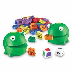 Нахрани забавната жабка - детска игра - Детски играчки - STEM Играчки