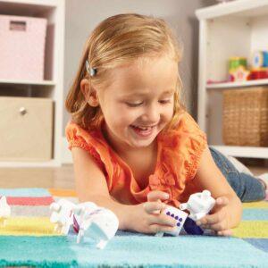 Образователна игра - Любознателните крави - Детски играчки - STEM Играчки
