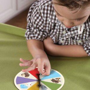 Образователна игра за фина моторика - Крадливата катерица - Детски играчки - STEM Играчки
