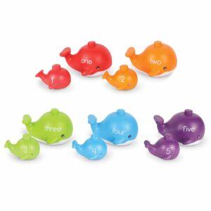 Образователна игра - Забавните китове - Детски играчки - STEM Играчки