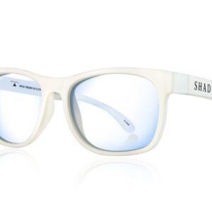 Очила за работа с компютър Shadez Blue Light за възрастни бели - Слънчеви очила