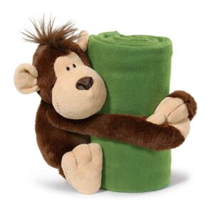 Одеяло с плюшена играчка Mаймунка - Детски играчки - Плюшени играчки