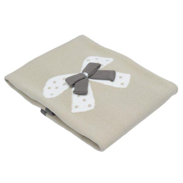 Одеяло за бебета с панделка - За бебето - Аксесоари за детска стая - Завивки / Одеяла