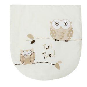 Палмова плетена кошница за новородено със спален комплект - Бухал - За бебето - Плетени кошчета за бебе