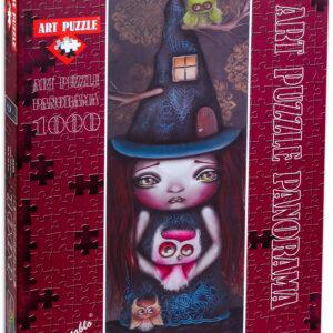 Панорамен пъзел Art Puzzle от 1000 части - Саманта, Ейдриан Андраде - Пъзели