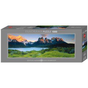 Панорамен пъзел Heye от 1000 части - Национален парк Торес дел Пайне, Александър фон Хумболт - Пъзели