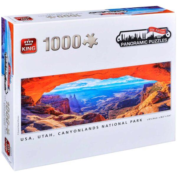 Панорамен пъзел King от 1000 части - Национален парк Кениънлендс, Сузане Кремер - Пъзели