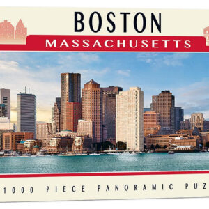 Панорамен пъзел Master Pieces от 1000 части - Бостън, Масачузетс - Пъзели