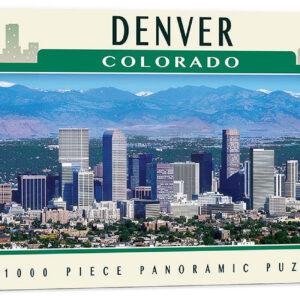 Панорамен пъзел Master Pieces от 1000 части - Денвър, Колорадо - Пъзели