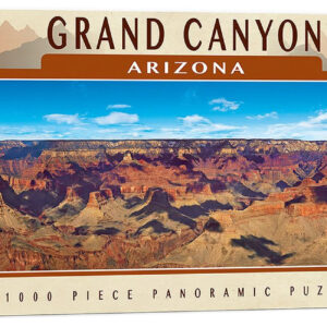 Панорамен пъзел Master Pieces от 1000 части - Гранд Каньон, Аризона - Пъзели