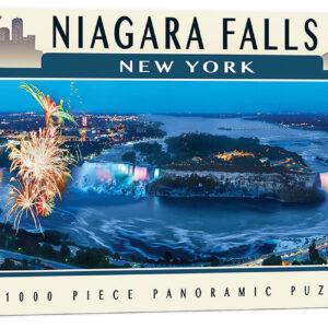 Панорамен пъзел Master Pieces от 1000 части - Ниагарският водопад, Ню Йорк - Пъзели
