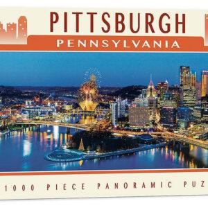 Панорамен пъзел Master Pieces от 1000 части - Питсбърг, Пенсилвания - Пъзели