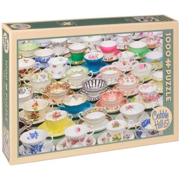 Пъзел Cobble Hill от 1000 части - Чаени чашки - Пъзели