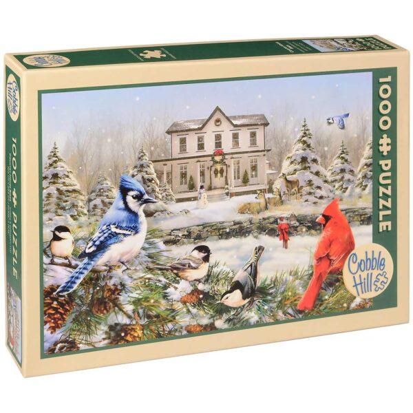 Пъзел Cobble Hill от 1000 части - Къщичка за птички, Грег Джордано - Пъзели