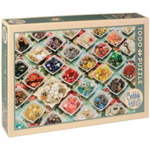 Пъзел Cobble Hill от 1000 части - Копчетата на баба - Пъзели