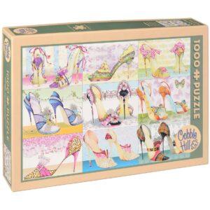 Пъзел Cobble Hill от 1000 части - Кутии за обувки, Кейт Фолоус - Пъзели