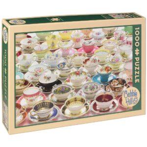 Пъзел Cobble Hill от 1000 части - Още чаени чашки - Пъзели