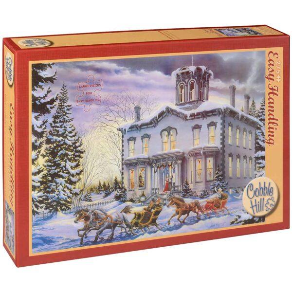 Пъзел Cobble Hill от 275 части - Коледа в Килбрайд, Ленс Ръсуирм - Пъзели