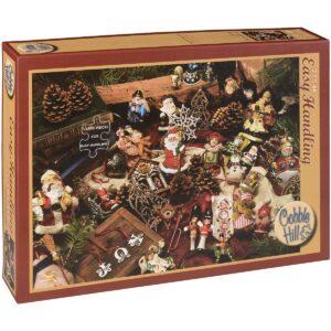 Пъзел Cobble Hill от 275 части - Коледни фигурки - Пъзели