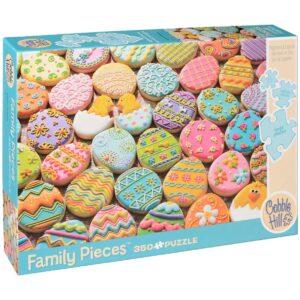 Пъзел Cobble Hill от 350 части - Великденски сладки, Семеен - Пъзели