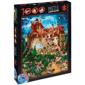 Пъзел D-Toys от 1000 части – Дракула - Пъзели