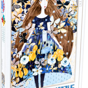 Пъзел D-Toys от 1000 части - Пролет, Андреа Кюрти - Пъзели