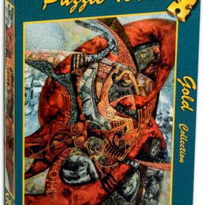 Пъзел Gold Puzzle от 1000 части - Тежестта на страстите - Пъзели