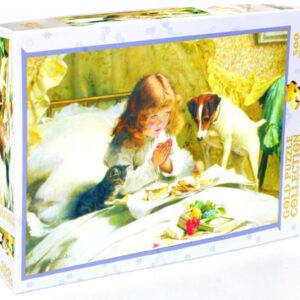 Пъзел Gold Puzzle от 500 части - Съспенс - Пъзели