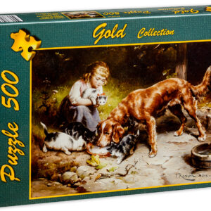 Пъзел Gold Puzzle от 500 части - Вечерно парти - Пъзели