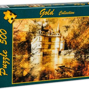 Пъзел Gold Puzzle от 500 части - Замъкът на Азай - Пъзели