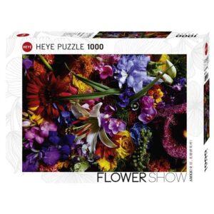 Пъзел Heye от 1000 части - Лилии на светлината, Азума Макото - Пъзели
