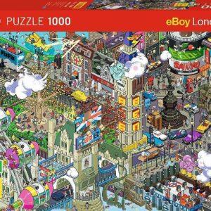 Пъзел Heye от 1000 части - Лондон - Пъзели