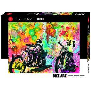 Пъзел Heye от 1000 части - Мотористът - Пъзели