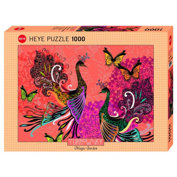 Пъзел Heye от 1000 части - Петли и пеперуди, Търновски - Пъзели