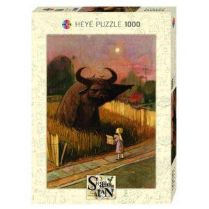 Пъзел Heye от 1000 части - Посочване, Шон Тан - Пъзели