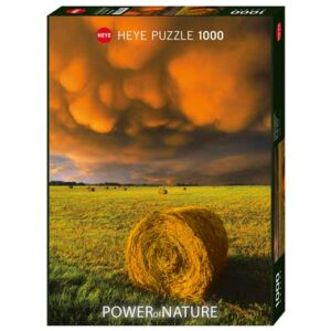 Пъзел Heye от 1000 части - Разразяваща се буря, Силата на Природата - Пъзели
