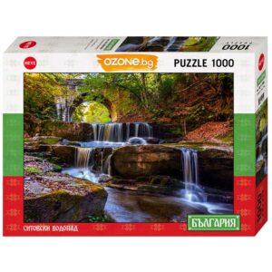 Пъзел Heye от 1000 части - Ситовски водопад, България - Пъзели