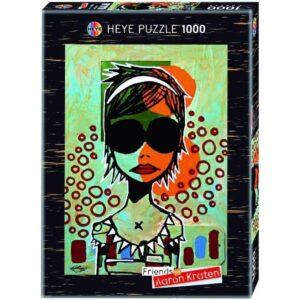 Пъзел Heye от 1000 части - Слънчеви очила, Аарон Крейтън - Пъзели