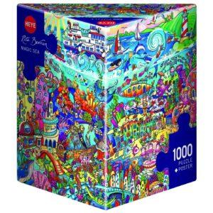 Пъзел Heye от 1000 части - Вълшебно море, Рита Берман - Пъзели