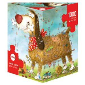 Пъзел Heye от 1000 части - Животът на кучето, Марино Дегано - Пъзели