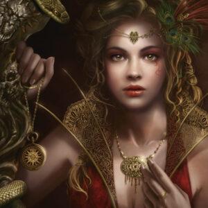 Пъзел Heye от 1000 части - Златни накити, Крис Ортега - Пъзели