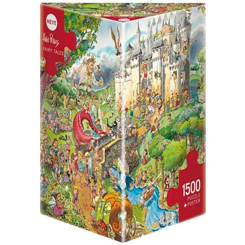 Пъзел Heye от 1500 части - Приказки, Уго Прадес - Пъзели