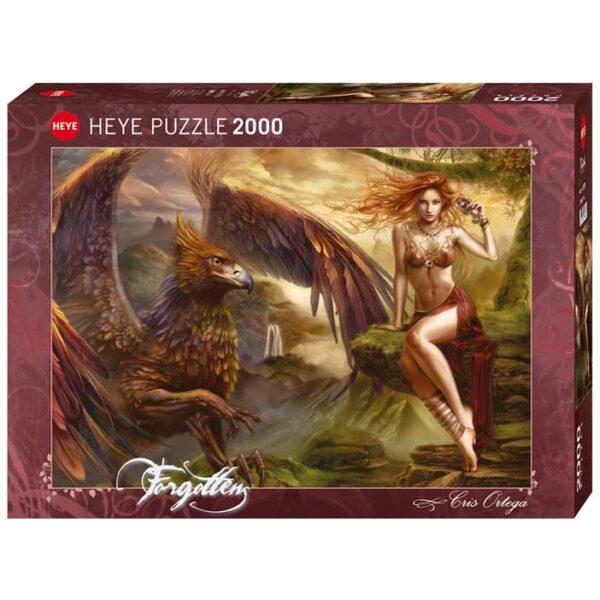 Пъзел Heye от 2000 части - Кралицата на орлите, Крис Ортега - Пъзели