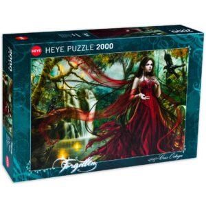 Пъзел Heye от 2000 части - Новото червено, Крис Ортега - Пъзели